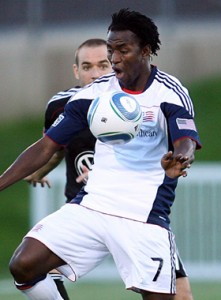 Kenny Mansally - New England Revolution 2011 MLS Play-in qualifying