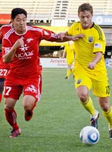 The Richmond Kickers and Columbus Crew met in the 2011 US Open Cup with the Kickers upsetting the Crew 2-1 at Crew Stadium. Photo: Columbus Crew