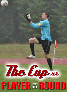 Zach Lubin of Kitsap Pumas - 2011 Player of the Round