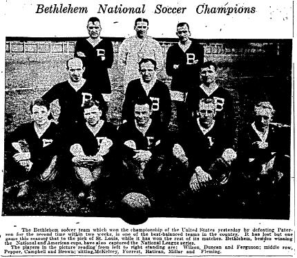 Bethlehem Steel - Philadelphia Inquirer, April 27, 1919