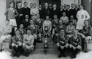1914/1915 National Challenge Cup champions Bethlehem Steel