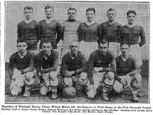 The New York Nationals won the 1927-1928 National Challenge Cup title.