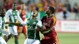 This 2013 US Open Cup Semifinal match featured two teams that have never reached the final four. Real Salt Lake won 2-1. Photo: Real Salt Lake