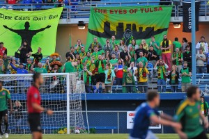 3,834 fans showed up to watch the Tulsa Athletics and the Oklahoma City Energy play their first US Open Cup game. Photo: Tulsa Athletics
