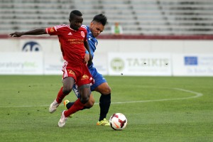After a three-hour lightning delay, the Richmond Kickers score two goals to beat the New York Greek American Atlas 2-1. Photo: Richmond Kickers
