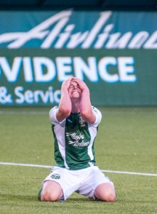 The Timbers U23s gave up three goals in the final 10 minutes. Photo: Diego G Diaz | ProstAmerika