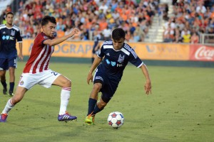 The Carolina RailHawks eliminated Chivas USA for the second time in three years at WakeMed Soccer Park. Photo: Carolina RailHawks