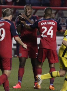 With two goals in extra time the Chicago Fire improve to 4-0-0 all-time against the Columbus Crew in US Open Cup play. Photo: Chicago Fire