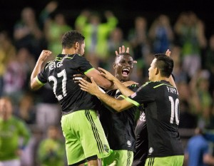 The Seattle Sounders eliminate the San Jose Earthquakes in penalty kicks to remain undefeated at Starfire Sports Complex. Photo: Seattle Sounders FC