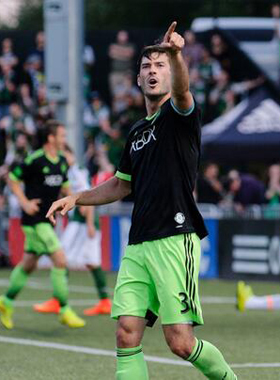 The Seattle Sounders needed overtime to eliminate the Portland Timbers to earn their 7th trip to the Semifinals in 8 years. Photo: Seattle Sounders FC