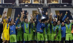 2014 US Open Cup: The Seattle Sounders defeated the Philadelphia Union in the Final at PPL Park, 3-1 in extra time.  Photo: Seattle Sounders FC