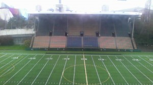 Memorial Stadium in Seattle was the site of the FC Tacoma vs. San Diego Flash match. Photo: @Brazbit (Twitter)