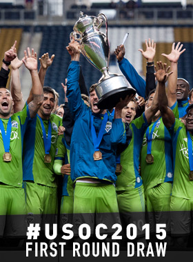 2015 US Open Cup Round 1 and 2 draw: 102nd tournament pairs