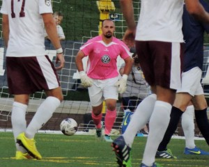 Gregory Hartley of Chattanooga FC is TheCup.us Player of the Round for the 2015 First Round. Photo: Madonna Kemp