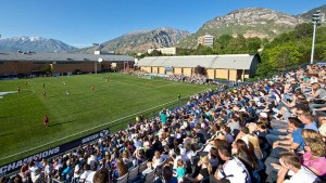 BYU's South Stadium in Provo, Utah
