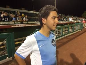Alberto Diaz of Chula Vista FC. Photo: Jose M. Romero