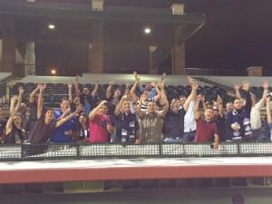 Chula Vista FC fans made the trip to Scottsdale, Ariz. to cheer on their team. Photo: Jose M. Romero