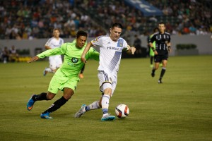 Robbie Keane became just the second LA Galaxy player to score a hat trick in the US Open Cup. Photo: LA Galaxy