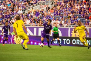 Kaka became just the third World Cup champion in the Modern Era to score a US Open Cup goal. Photo: Orlando City SC