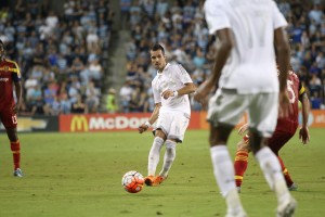 Benny Feilhaber finished the Semifinals tied for the tournament lead with 4 assists. Photo: Jamila St. Ann | Sporting KC