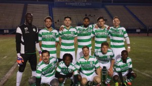 Lansdowne Bhoys before their 2016 US Open Cup qualifying match against Worcester FC. Photo: Lansdowne Bhoys