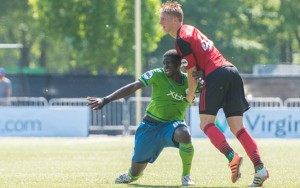 The Seattle Sounders 2 and the Portland Timbers 2, shown here in a 2015 US Open Cup Round 3 match will not be competing in the 2016 tournament. Photo: Charis Wilson | Seattle Sounders FC