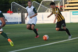 The Charleston Battery face The Villages SC from the PDL in the 2016 US Open Cup. Photo: Charleston Battery