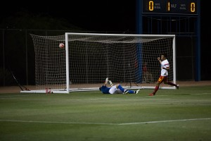 Long Tan's second goal for Arizona United against FC Tucson in the 2016 US Open Cup. Photo: Sidney Cervantes