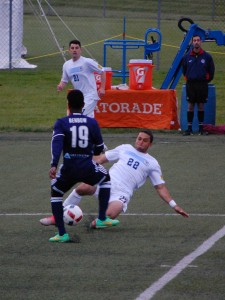 Harrisburg City Islanders vs. West Chester United in the 2016 US OpenCup. Photo: Kari Haffelfinger
