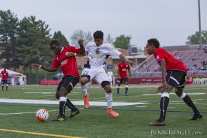 Reading United AC and the Atlanta Silverbacks square off in a FIrst Round match in the 2016 US Open Cup. Photo: Reading United AC (PennImages.com)