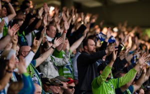 Seattle Sounders fans are hoping their club can take another step toward a record-tying fifth US Open Cup title. Photo: JaneG. Photography | Seattle Sounders FC