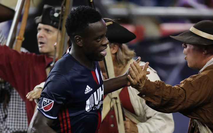 5276dda86c5 The New England Revolution defeated the Chicago Fire 3-1 to advance to the  club's