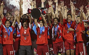 FC Dallas: 2016 Lamar Hunt US Open Cup champions. Photo: FC Dallas