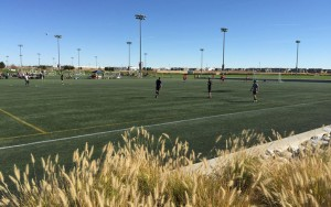 Field No. 8 at the Dick's Sporting Goods Park complex was the site for the 2017 US Open Cup qualifier between Azteca FC and Harpo's FC. Photo: Jim Hart