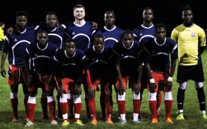 Junior Lone Star poses for a team photo before their 2017 US Open Cup qualifier against Brick Lions FC. Photo: Junior Lone Star