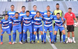 Boca Raton FC poses for a team photo before a NPSL game against Miami United. Photo: Boca Raton FC