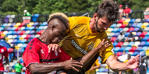 The Charleston Battery defeated the Atlanta Silverbacks 2-1 in the Second Round of the 2017 US Open Cup. Photo: Dave Williamson | Atlanta Silverbacks