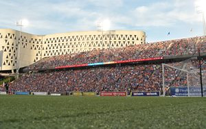 FC Cincinnati drew 32,287 fans to their Round of 16 match against the Chicago Fire (MLS). Only one game in the Modern Era (2011 Final - 35,311)  has drawn more. Photo: Erik Schelkun | FC Cincinnati