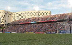FC Cincinnati drew 32,287 fans to their Round of 16 match against the Chicago Fire (MLS). Only one game in the Modern Era (2011 Final - 35,311)  has drawn more. Photo: Erik Schelkun | FC Cincinnati