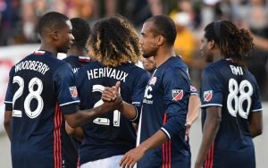 The New England Revolution defeated the Rochester Rhinos 3-0 in the Fourth Round of the 2017 US Open Cup. Photo: Keith Nordstrom | New England Revolution