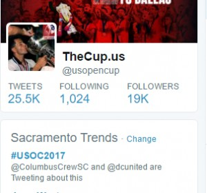 The city of Sacramento was pretty excited on social media after the club's first-ever win over an MLS opponent.