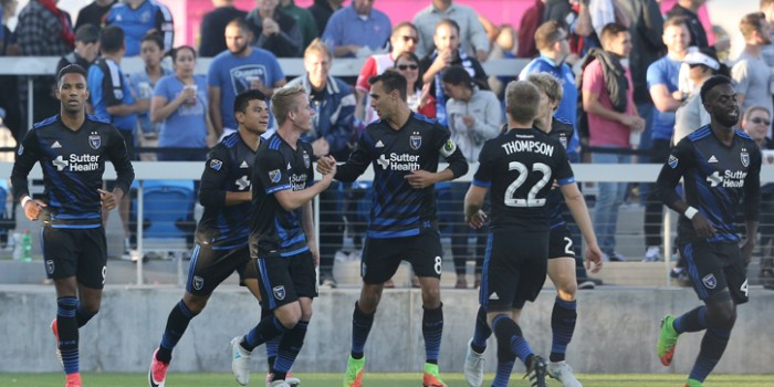 2017 US Open Cup Round 4: Early goals lift San Jose Earthquakes to Bay Area win over San Francisco Deltas