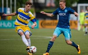 The Seattle Sounders and the Kitsap Pumas squared off in the 2016 US Open Cup. Photo: JaneGPhotography.com