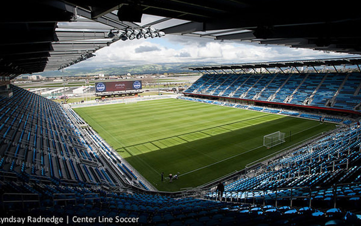 Avaya Stadium will be the site of the sixth all-time US Open Cup meeting between the San Jose Earthquakes and the L.A. Galaxy. The Galaxy have advanced in all five previous meetings. File Photo: Center Line Socket