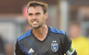 Chris Wondolowski scored two goals in the San Jose Earthquakes' 3-2 win over the LA Galaxy in the 2017 US Open Cup Quarterfinals. Photo: ISI Photos | San Jose Earthquakes
