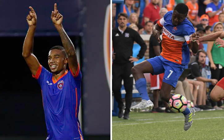 Miami FC (NASL) and FC Cincinnati (USL) will square off in the Quarterfinals, assurring that at least one lower division team will reach the Semifinals for the first time since 2011.