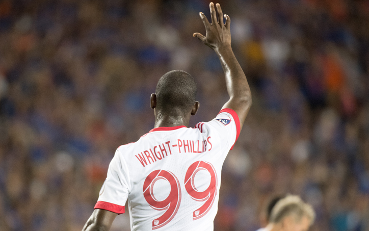 Bradley Wright-Phillips scored two goals, including the game-winner in extra time as the New York Red Bulls rallied from a two-goal deficit to beat FC Cincinnati, 3-2. Photo: Ryan Meyer | New York Red Bulls