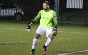 Phoenix SC goalkeeper Tony Pratico saved a penalty kick and kept a clean sheet in a 1-0 win over West Chester United in 2018 US Open Cup qualifying. Photo: Matt Ralph