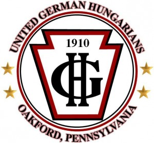 United German Hungarians (UGH) logo