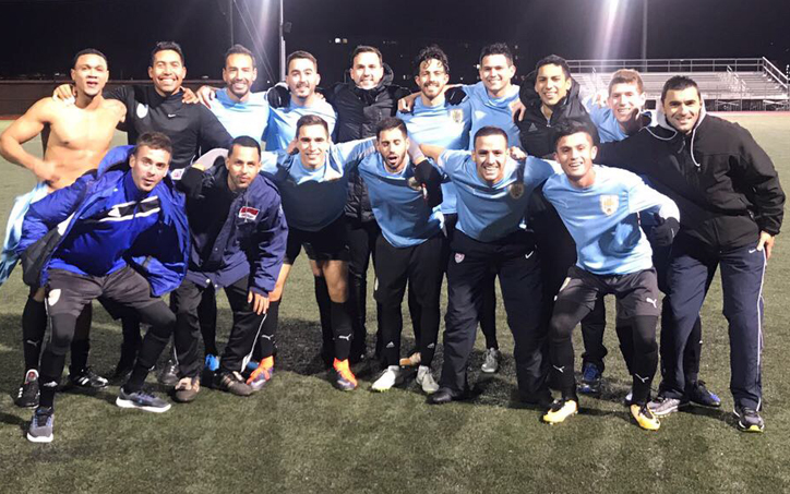 FC Kendall poses for a team photo after a 4-2 win over Nashville United in the 2018 US Open Cup qualifying tournament. Photo: FC Kendall